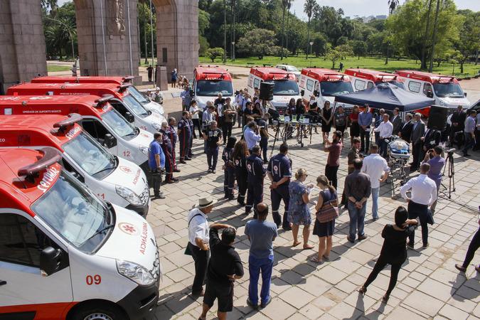 Novos veículos garantem renovação da frota do Samu em 86%