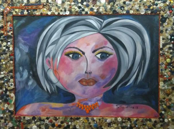 Exposição Quem és tu, Mulher?, da artista plástica Evelin Wisniewski.