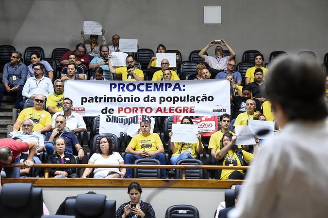 Tribuna Popular com o Sindicato dos Trabalhadores em Processamento de Dados do Rio Grande do Sul – SNDPPD/RS.