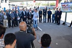 Presidente da CMPA participa do Ato na Trincheira da Ceará, de Reinício das Obras da Copa.