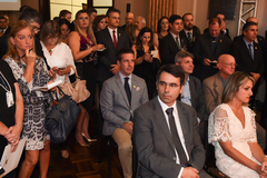 Presidente Valter participa da posse da Federasul.
