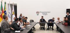Reunião de Mesa Diretora e Lideranças Partidárias