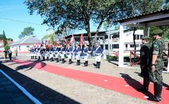Presidente da CMPA participa de Solenidade em comemoração ao dia do Exército.