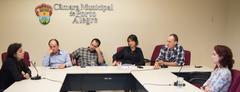 Reunião da CEDECONDH sobre a Ocupação Mulheres Mirabal.