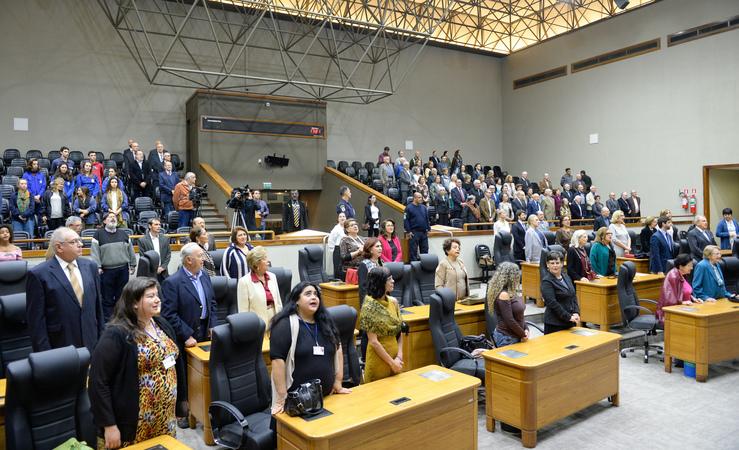 Sessão Solene em Homenagem aos 70 anos da Criação do Estado de Israel.