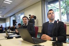 3ª reunião ordinária para debater com a Secretaria da Fazenda, a reestruturação do IPTU. Na foto, o Secretário Municipal da Fazenda, Leonardo Busatto (D).