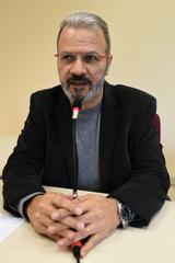 Debate sobre inovação com especialistas da área. Na foto, o Professor e Superintendente de Inovação da PUCRS/TECNOPUC, Jorge Audy.