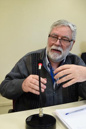 Debate sobre inovação com especialistas da área. Na foto, o coordenador de Inovação da Prefeitura de Porto Alegre, Roberto Moschetta.