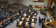 Plenário Otávio Rocha, da Câmara Municipal