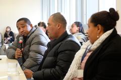 Fechamento do Conselho Tutelar da Microrregião 7. Na foto: da esq. Rafael Barros, Wagner Tavares e Shayene da Silva