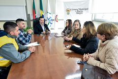 Reunião com comissão de empresas prestadoras de serviço e fornecedores de Porto Alegre