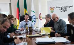 Reunião de Mesa diretora.