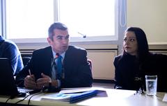 Reunião Ordinária com a seguinte Pauta: esclarecimentos sobre as Demonstrações Contábeis da Companhia Carris Porto-Alegrense, referentes ao ano de 2016. Na foto, o diretor Administrativo-Financeiro, Cesar Griguc.