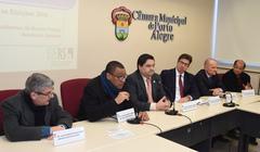 O evento foi promovido pela Escola do Legislativo Julieta Battistioli