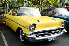 Cerca de 150 veículos antigos participaram da exposição