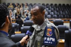 Soldado Emmanuel foi distinguido com diploma na tarde desta segunda-feira