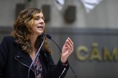 Vereadora Sofia Cavedon (PT), autora da proposta