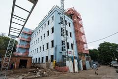 Comissão conheceu estágio das obras do hospital no Teresópolis
