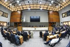 O Plenário Otávio Rocha, da Câmara Municipal de Porto Alegre