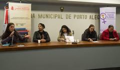 Vereadora Fernanda Melchionna (esq) é a procuradora especial da Mulher na Câmara