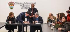 Nagelstein recebeu pedido do Simpa durante a reunião de líderes desta quarta