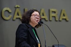 Vládia Vaz relatou a diminuição de verbas para a merenda