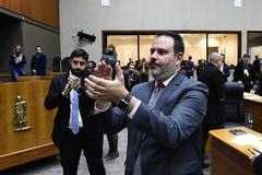 Vereador Ricardo Gomes no Plenário Otávio Rocha