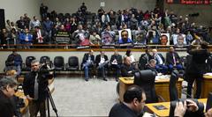 Motoristas acompanharam toda a votação no Plenário