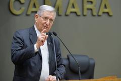 Movimentações de plenário. Na foto, o vereador João Carlos Nedel.