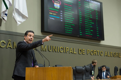 Presidente da Câmara, vereador Valter Nagelstein (MDB)