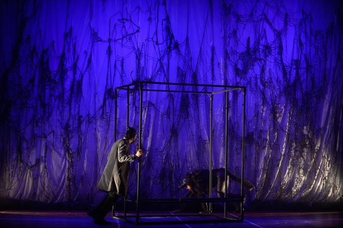 """Espetáculo Teatral Infantil """"Chapeuzinho Vermelho"""" na IV Mostra de Artes Cênicas e Música do Teatro Glênio Peres."""