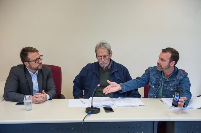 Reunião da Comissão de Constituição e Justiça com a presença de representantes dos taxistas reivindicando regulamentação da atual lei dos taxis, senhores Júnior Bof e Walter Barcellos