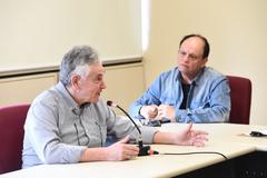 Reunião da comissão para discutir planos de saúde. Na foto, senhor Mauro Safir ao microfone