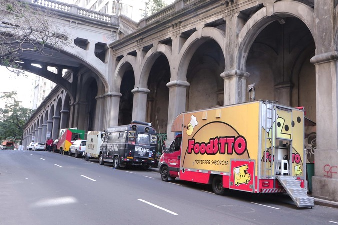 Food trucks em Porto Alegre