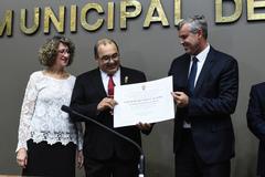 Barck (c) é Cidadão de Porto Alegre