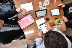Vereadores testaram sistema durante reunião da Mesa Diretora