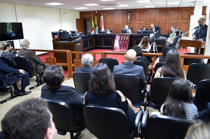 Sessão Solene em Homenagem Póstuma aos Magistrados Tribunal de Justiça Militar RS