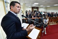 Presidente Valter Nagelstein (MDB) destacou história centenária do Tribunal da Justiça Militar