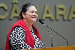 Posse de Berna Menezes foi realizada na tarde desta segunda-feira