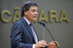 Vereador Cassiá Carpes no Plenário Otávio Rocha