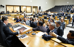 Ofício do Executivo foi lido ao plenário na tarde desta quarta-feira