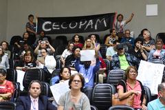 Comunidade compareceu à Câmara para reclamar da falta de professores de educação física