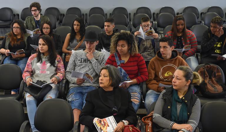 Plenaria do Estudante.