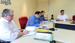 Reunião da Comissão de Constituição e Justiça.