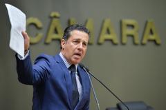 Presidente da Câmara, na tribuna, defendeu o trabalho dos vereadores