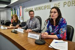 Silvana Dalmás, da Emater/RS, destacou a importância da Semana da Alimentação Saudável