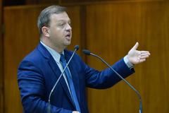 Movimentações de plenário. Na foto, o vereador André Carus.