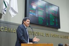 Vereador Cassiá Carpes (PP), autor do projeto