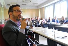 Reunião de Prestação de Contas da EPTC. Na foto, o presidente da EPTC, Marcelo Soletti.