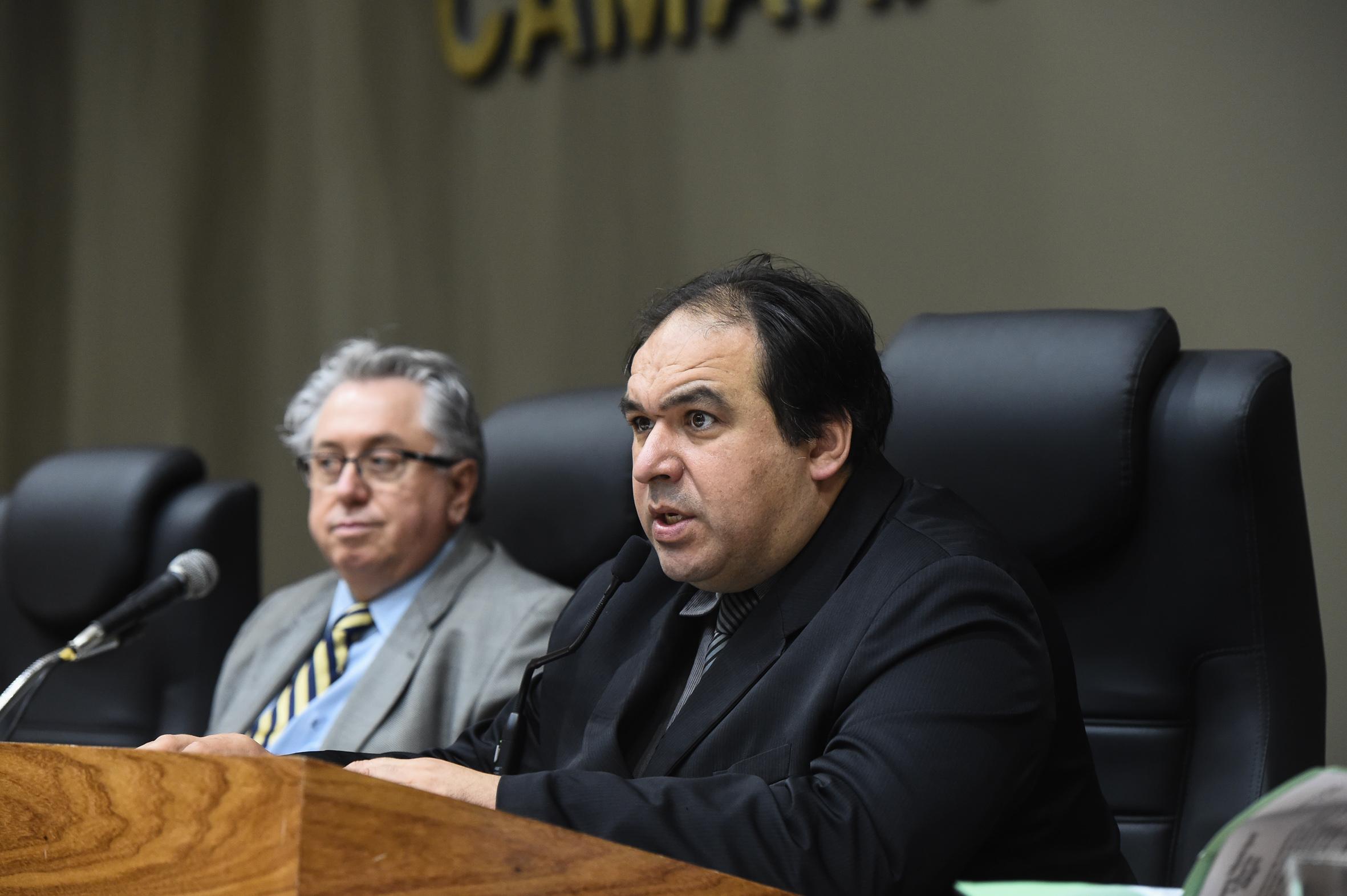 Adeli Sell (PT) e Thiago Duarte (DEM) são os proponentes